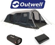 Outwell Lakeville 5SA Tent 2020 (Inc: Carpet + Footprint)